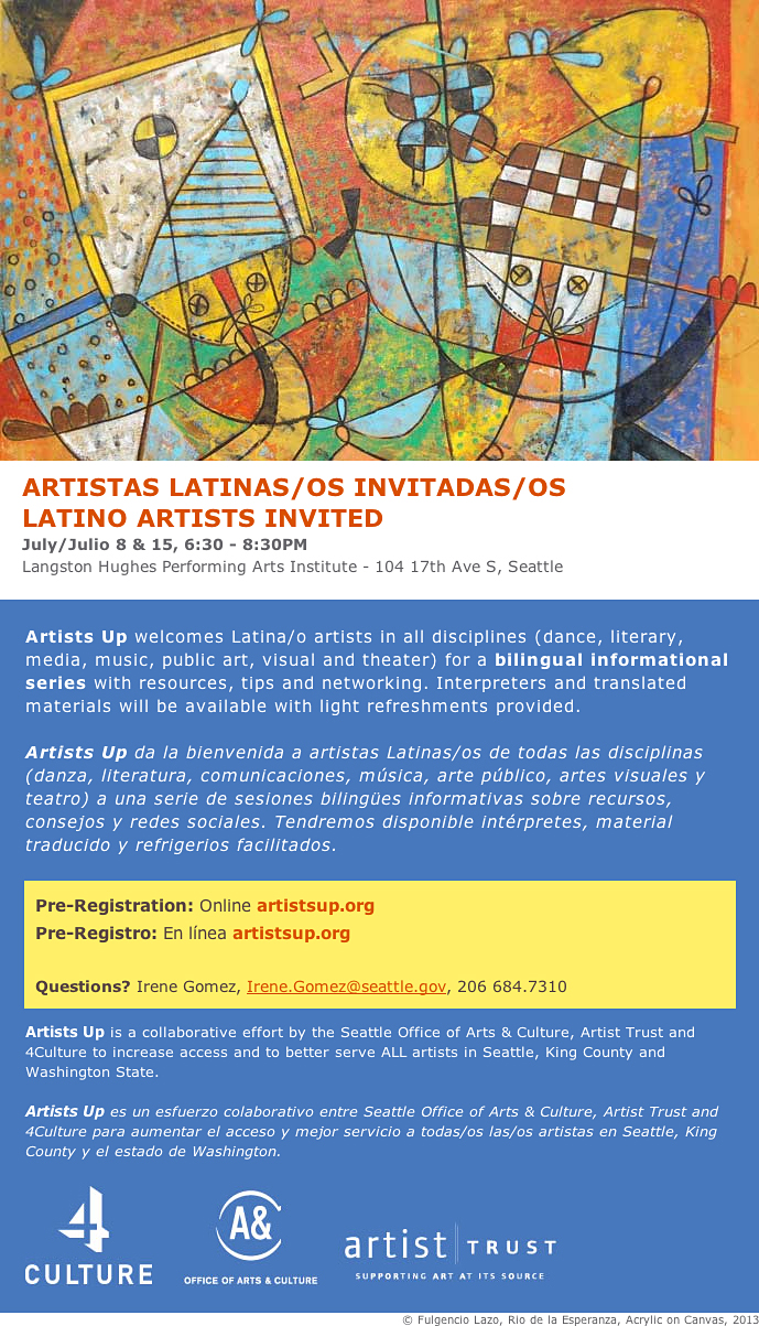 Para Artistas Latinas(os)/For Latina(o) Artists